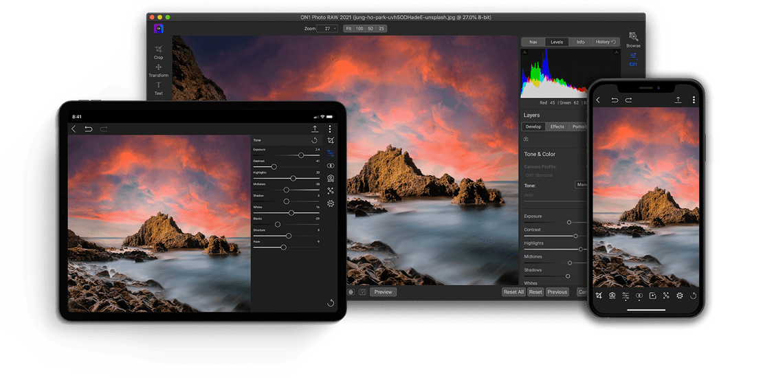 The Only All-in-One Photo Editor for Today's Photographer
